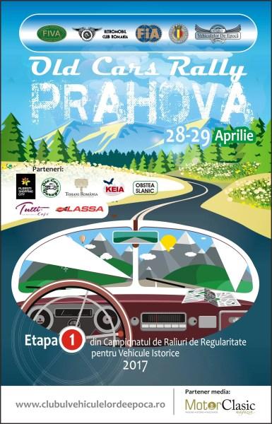 Campionat de Raliuri de Regularitate pentru Vehiculele Istorice la Ploieşti Shopping City