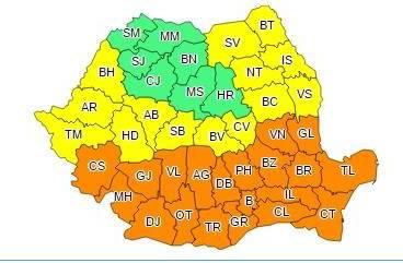 Cod portocaliu de caniculă în Prahova. Temperaturi de 40 de grade!