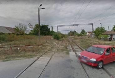Lucrări de desfiinţare a fostei treceri peste calea ferată de sub pasajul Mărăşeşti