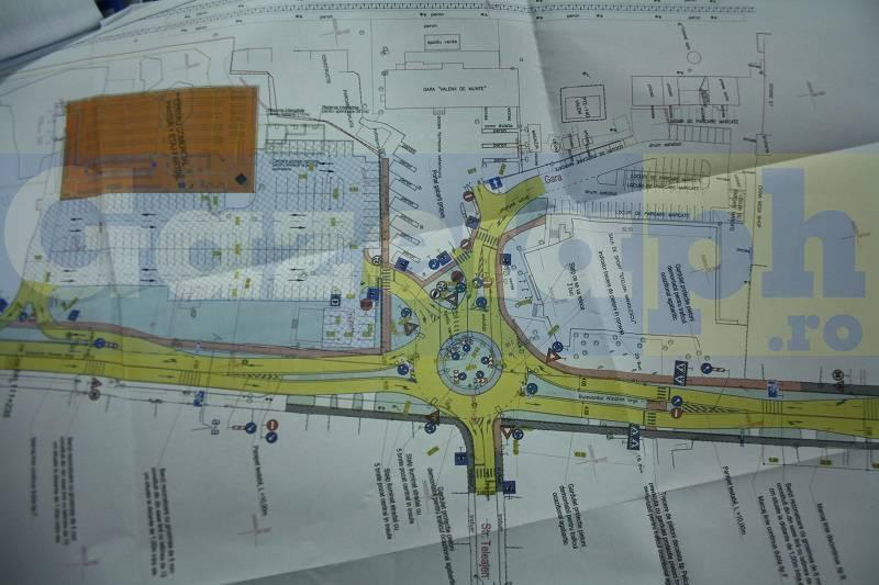 Sens giratoriu şi un nou supermarket LIDL la intrarea în Vălenii de Munte. Cum va arăta zona