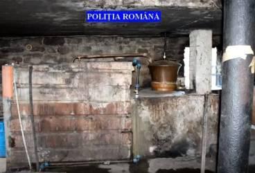 Percheziţii la producători de ţuică din Ştefeşti. 5.000 litri de băuturi alcoolice confiscaţi