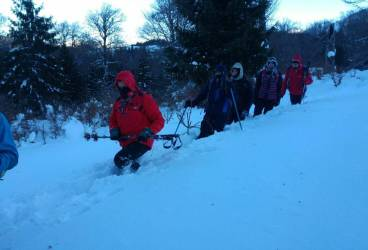 Trasee montane închise din cauza zăpezii