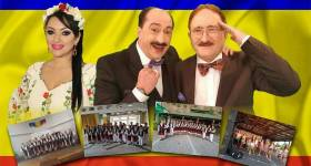 Romică Ţociu şi Cornel Palade – spectacol la Scorţeni pe 2 decembrie
