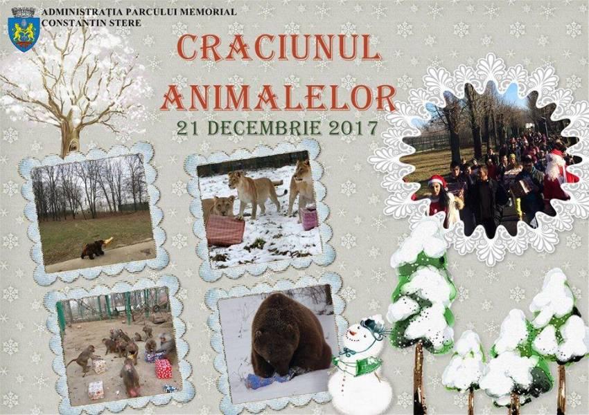 Crăciunul animalelor la Zoo Bucov