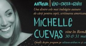 Michelle Cuevas, îndrăgita autoare de cărți pentru copii,  vine în România