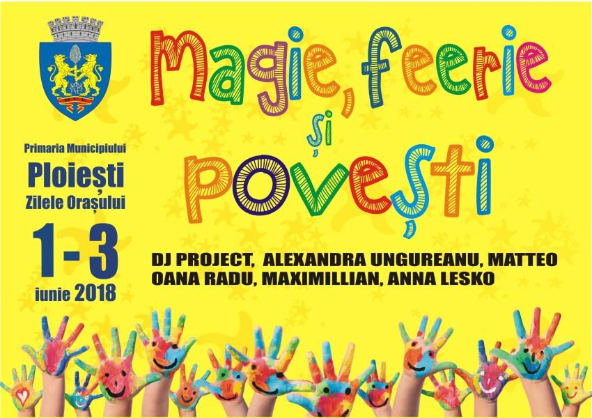 Programul detaliat al Zilelor Oraşului Ploieşti (1-3 Iunie)