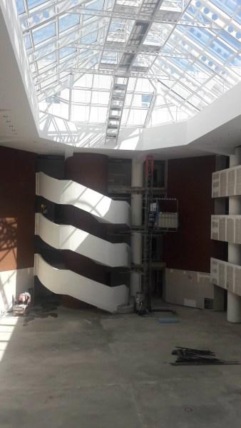 Imagini din clădirea noului Palat al Justiţiei din Ploieşti