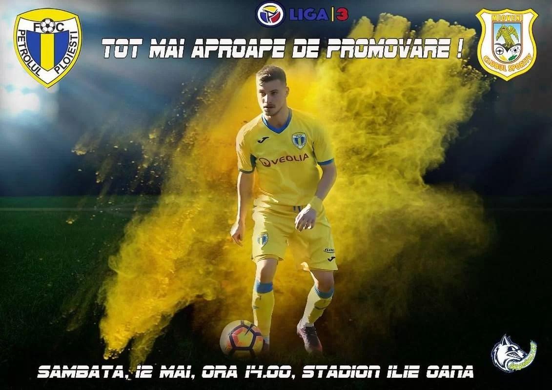 Adio, Serie C! De azi, de la ora 15.45, FC Petrolul va fi, matematic, în Liga a II-a!