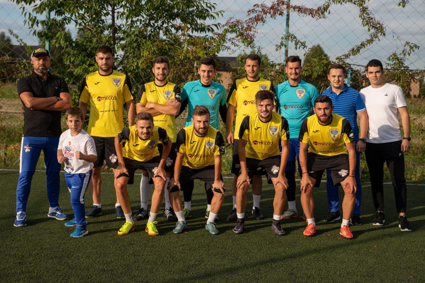 Academia de Minifotbal Strejnic, o adevărată oază pentru protagoniștii meciului dintre MFC Ploiești și campioana mondială a fotbaliștilor-artiști