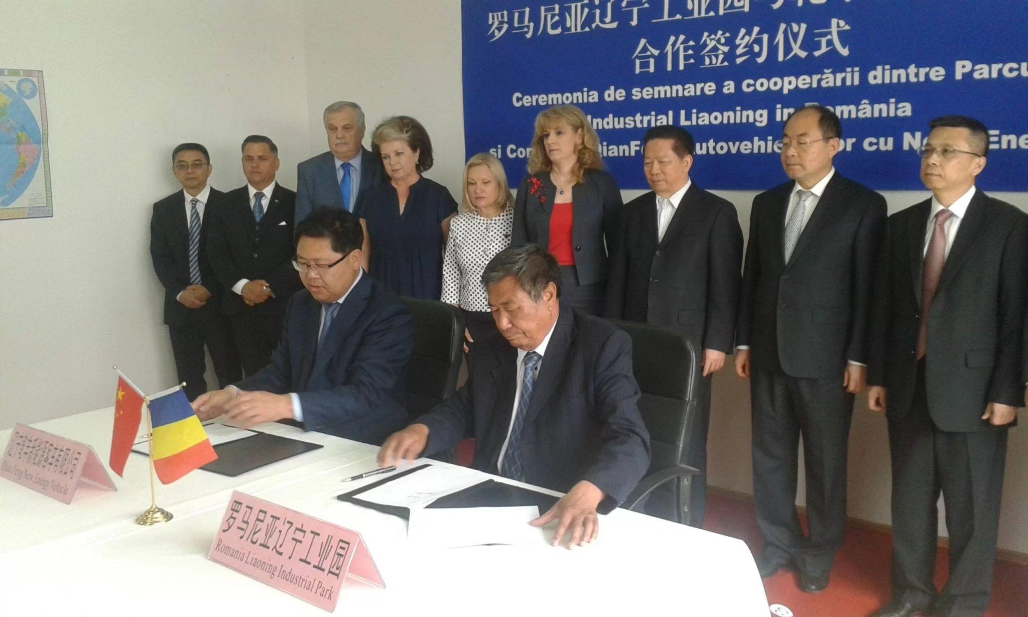 Acord pentru o investiţie de 100 miloane euro, din Liaoning (China), la Baicoi