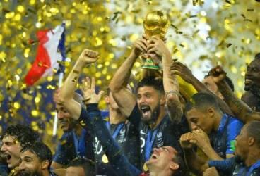 1. Franța; 2. Croația; 3. Belgia – podiumul european de la… Cupa Mondială din Rusia. A patra a fost Anglia