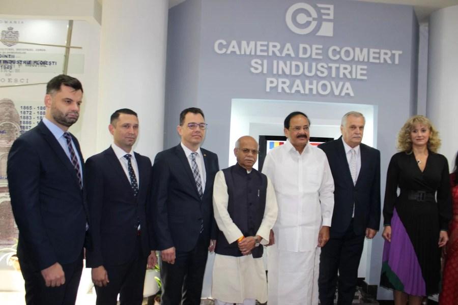 Vicepreşedintele Indiei, la Ploieşti: România va constitui pentru India o poartă de intrare în UE