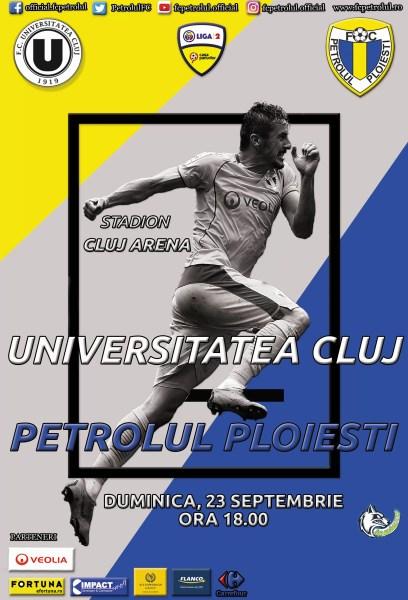 """""""U"""" Cluj – Petrolul să fie derbi pe teren, dacă în clasament nu s-a putut! Din cauza """"șepcilor roșii"""", însă"""