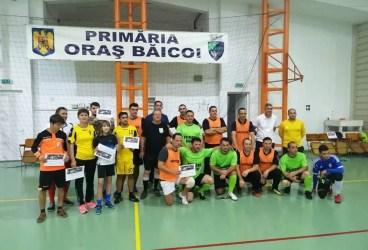 Pompierii şi Primăria şi-au disputat Cupa oraşului Băicoi la fotbal