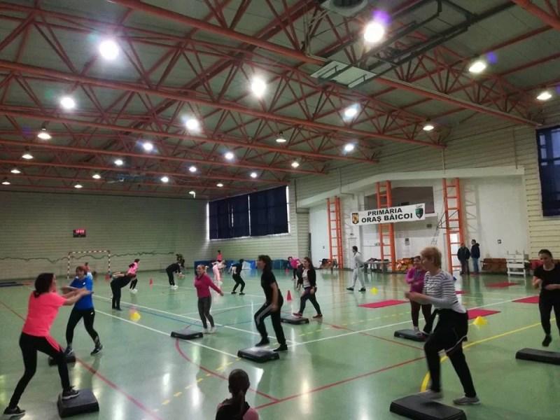 Sport=Sănătate & Frumuseţe, dedicaţie pentru doamnele din Băicoi
