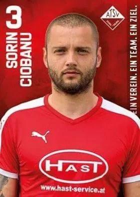 Ex-produs al Petrolului, ploieșteanul Sorin Ciobanu a fost ales al doilea din ligile austriece, de la a treia în jos! Topul a cuprins 200 de jucători