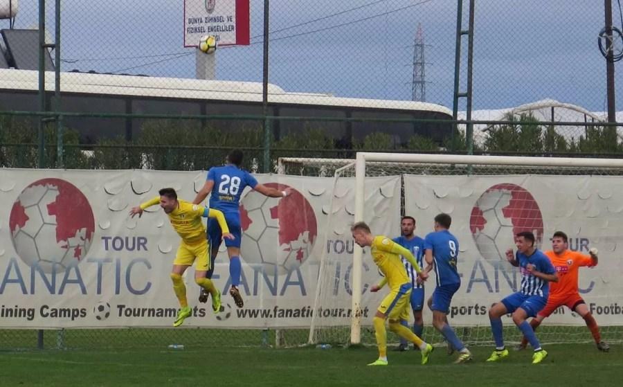 """Rusu a marcat cel dintâi gol al """"lupilor"""" din 2019. În primul meci-test al Petrolului din pauza competițională de iarnă a fost 1-1"""