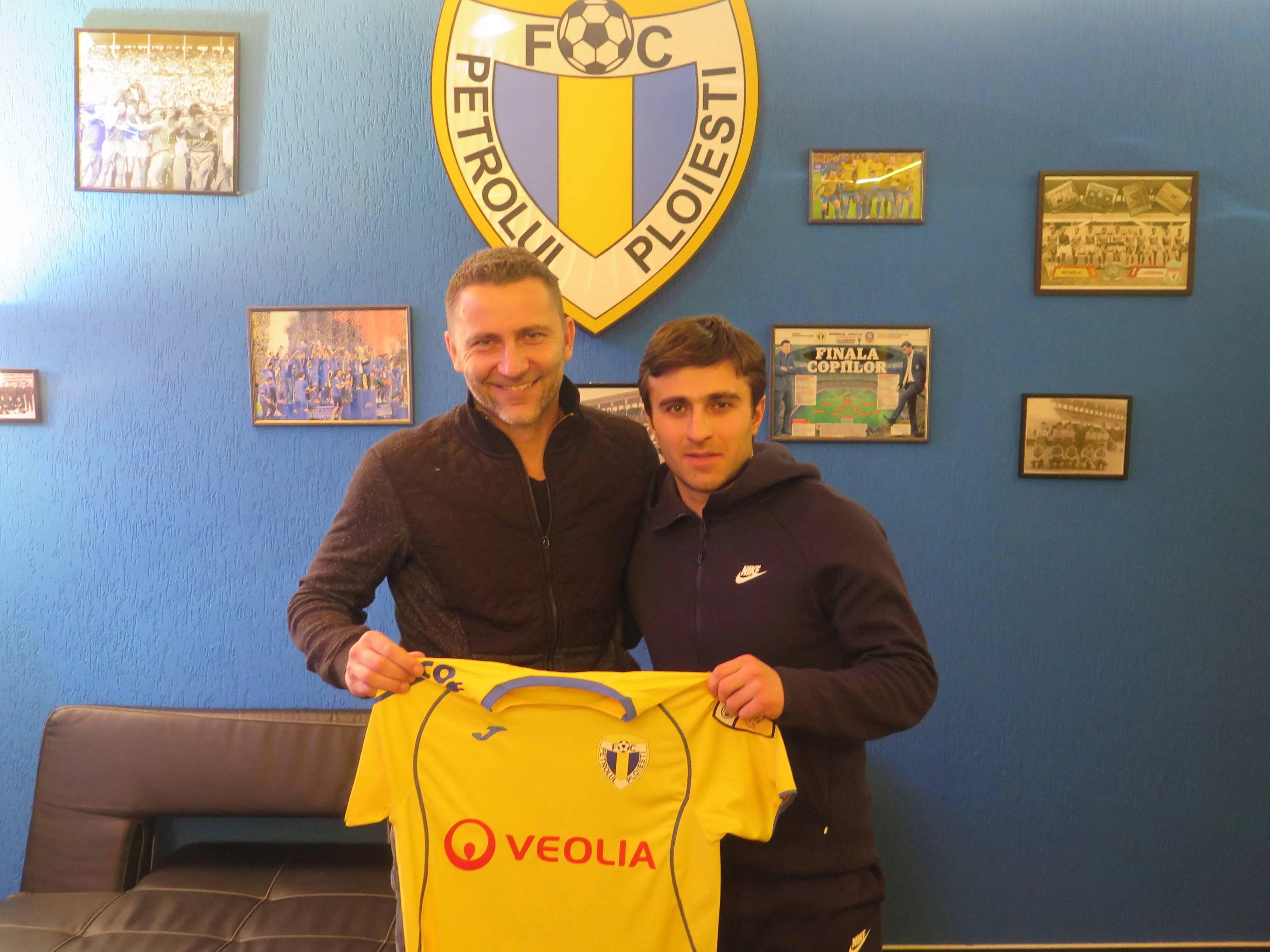 """FC Petrolul și-a luat """"număr 10"""" din Asia. Armeanul Edgar Malakyan este internațional și a jucat și în Europa"""