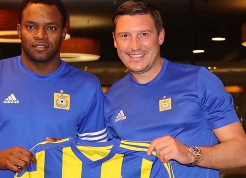 Alcénat a lăsat prima ligă din Portugalia și a revenit în estul Europei. Se îmbracă iar în galben și albastru!