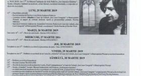 """Programul Festivalului Internațional de Poezie """"Nichita Stănescu"""", de la Ploiești"""