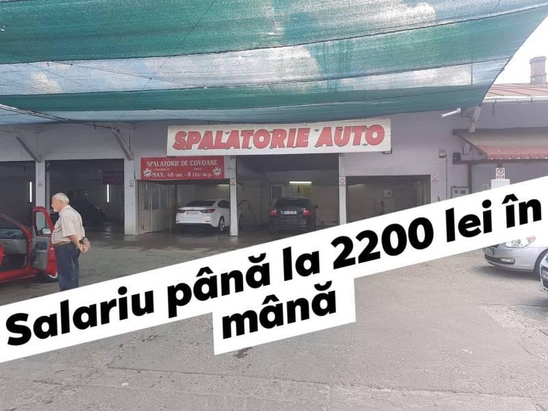 (P) Spălătorie auto din Ploieşti angajează cu 1800-2200 lei net!