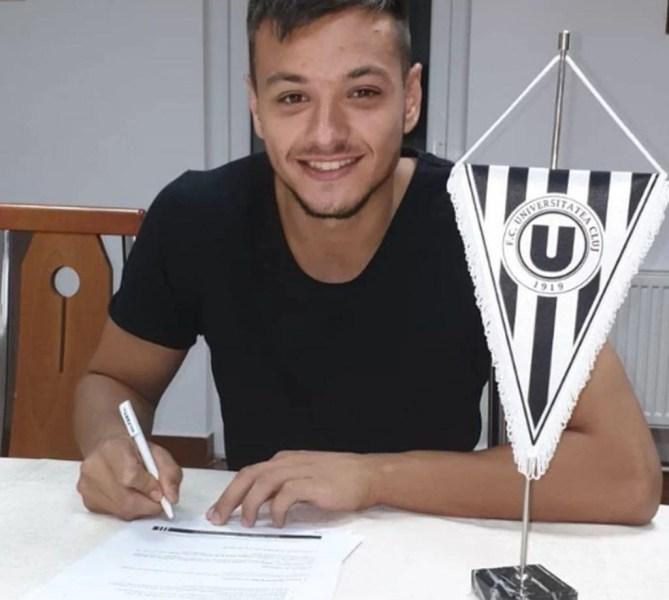 """Cosmin Dur Bozoancă, zis Coco, a """"fugit"""" din cantonamentul Petrolului și a semnat iar cu Universitatea Cluj!"""