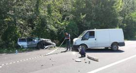 Accident rutier grav pe DN1, la Puchenii Mari