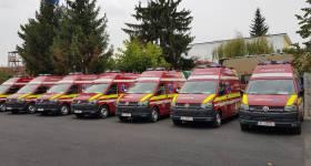 7 noi ambulanţe SMURD moderne la Prahova