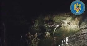 Aseară, jandarmii au alungat cu spray-ul urşii din campingul de pe Valea Cerbului