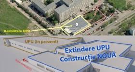 Încep lucrările la extinderea şi modernizarea UPU a Spitalului Judeţean Ploieşti
