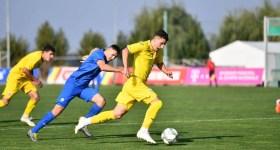 """Ianis Stoica, cu… de toate! Cel mai bun tricolor """"U 18"""" al României, din meciul contra Slovaciei, a fost juniorul Petrolului!"""