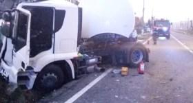 """Accident: Cisternă plină cu carburant era să provoace """"apcalipsa"""" la Comarnic"""