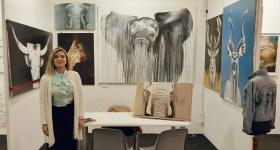 Între Mizil şi Padova, pictoriţa Diana Păun nu îşi uită originile când gustă succesul