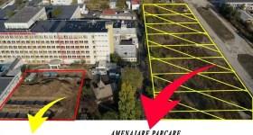 Parcare pentru pacienţi şi vizitatori la Spitalul Judeţean de Urgenţă Ploieşti