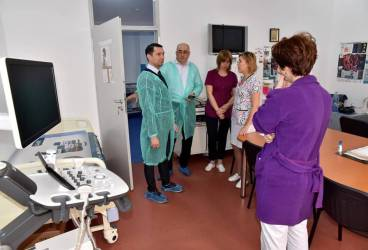 Spitalul Judeţean dotat cu aparatură performantă destinată cardiacilor şi diabeticilor