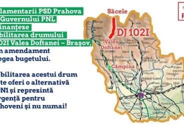 Amendament la Legea bugetului pentru finanţarea drumului Valea Doftanei-Braşov
