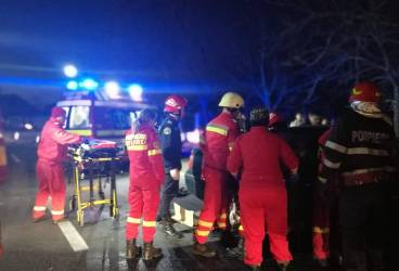 Accident grav la Valea Călugărească (galerie foto)