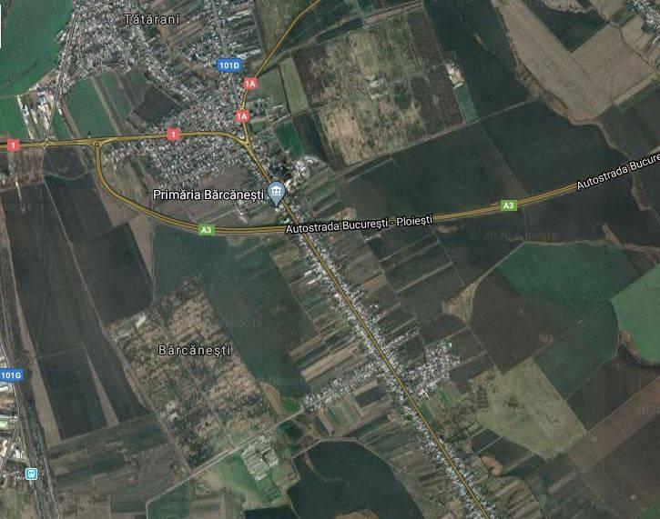 Treceri de pietoni pe DN1, pentru locuitorii comunei Bărcăneşti