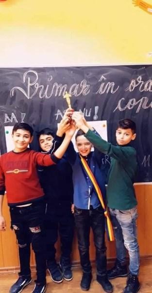 Primar în oraşul copiilor, proiect inedit la Şcoala Româneşti