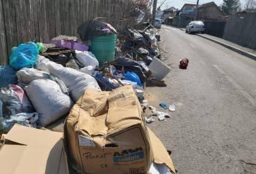 Munţii de gunoaie au început să reapară la colţ de stradă în Ploieşti