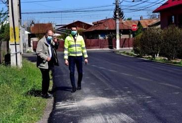 Viaţa merge înainte: Asfaltări ale drumurilor judeţene din Prahova