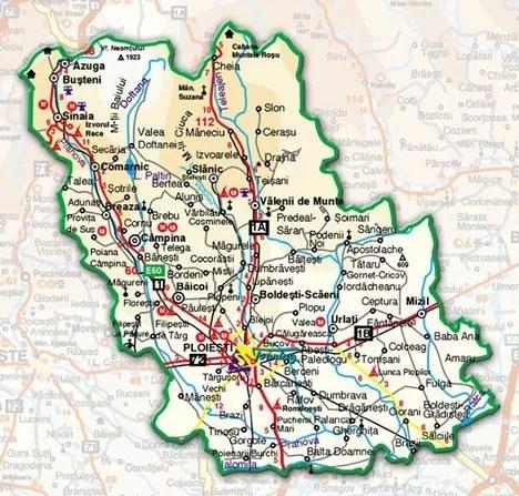 3 localități prahovene în scenariul roșu. Rata incidenței Covid în toate localitățile din județ