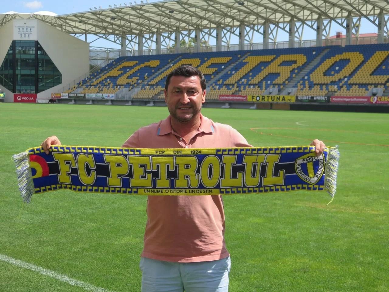 FC Petrolul a ales noul antrenor principal! Aproape retrogradat cu echipa chiriașă de pe arena Ilie Oană, Viorel Moldovan vine motivat s-o promoveze pe Petrolul!