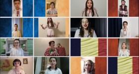 """""""LA MULȚI ANI!"""" de la copiii talentați ai CN """"I.L. Caragiale"""" și profesoara Adela Dumitrache-Dumitru"""