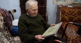 Veteranul din Măneciu, Buzoianu Ştefan, sărbătorit şi omagiat la 100 ani