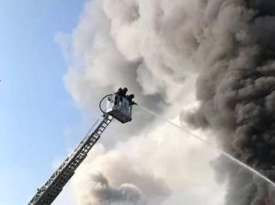 A luat foc clopoptnița bisericii din satul Fundeni
