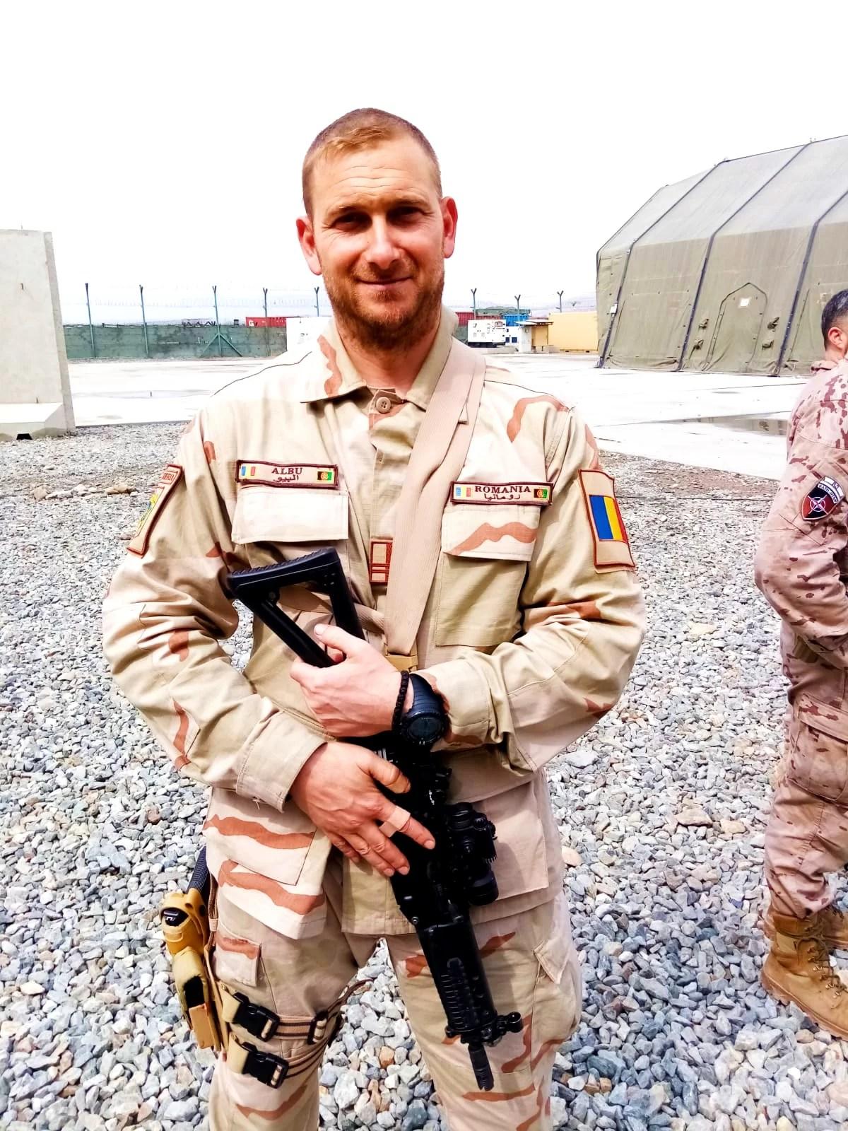 Jandarm ploieștean, întors din Afganistan după 6 luni