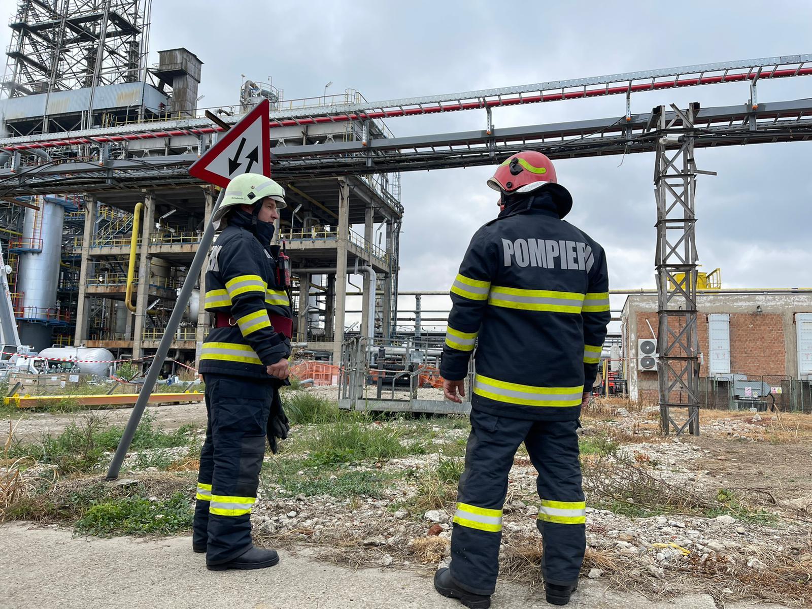 Un incendiu la Rafinăria Petrotel-Lukoil a alertat Ploieștiul