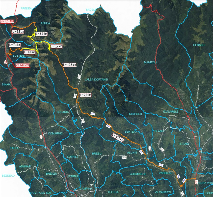 Drumul TransBai va fi realizat din fonduri europene