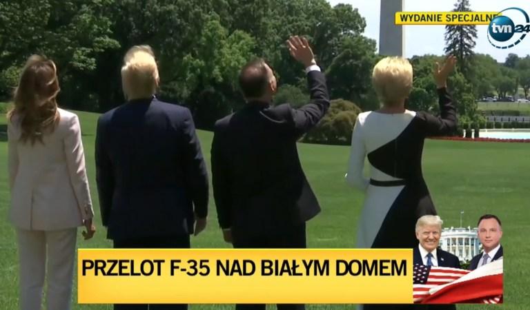 Gen. Różański: Te gesty machania do lecącego samolotu są kuriozalne.